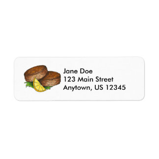 Maryland Crabcake Crab Cake Seafood Cakes Labels