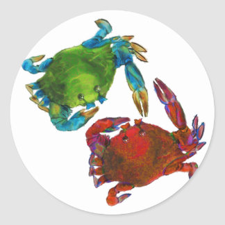 Maryland Crabs Before and After Stickers