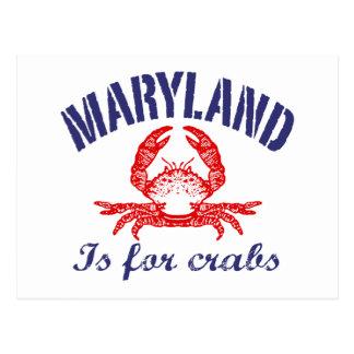 Maryland  Crabs Card