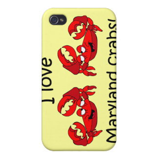 Maryland crabs cases for iPhone 4