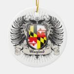 Maryland Crest Ornament