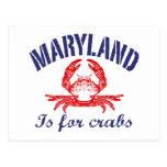 Maryland critica despiadadamente la tarjeta postal