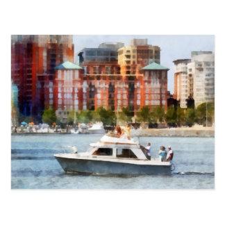 Maryland - crucero de cabina por el horizonte de B Tarjetas Postales