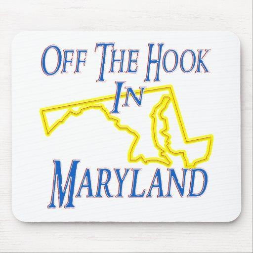 Maryland - del gancho tapetes de raton
