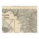 Maryland, Delaware, DC Postcard