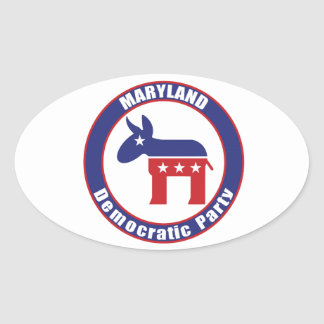 Maryland Democratic Party Sticker