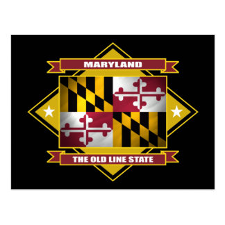 Maryland Diamond Postcard