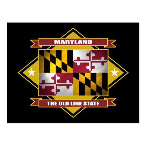 Maryland Diamond Postcard
