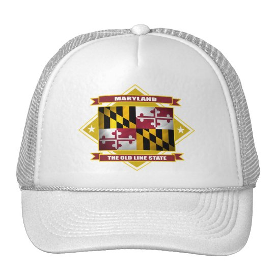 Maryland Diamond Trucker Hat