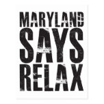 Maryland dice se relaja postal