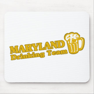 Maryland Drinking Team t shirts Mousepads