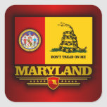 Maryland (DTOM) Square Sticker