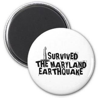 MARYLAND EARTHQUAKE MAGNET