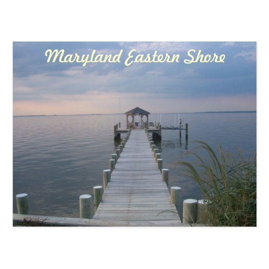 Maryland Eastern Shore Postcard