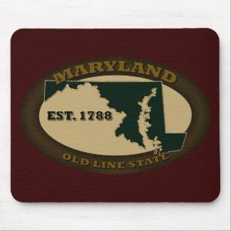 Maryland Est. 1788 Alfombrillas De Ratón