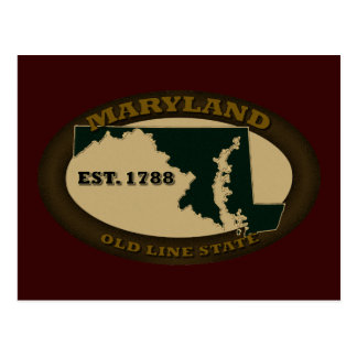 Maryland Est. 1788 Postales