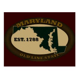 Maryland Est. 1788 Tarjetas Postales