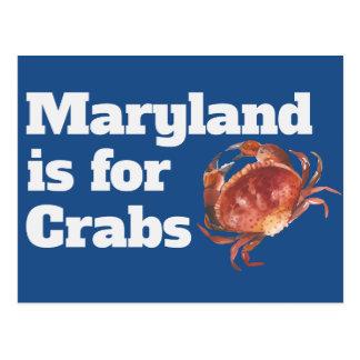 Maryland está para las postales de los cangrejos