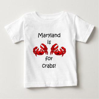 Maryland está para los cangrejos camisas