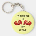 Maryland está para los cangrejos llavero
