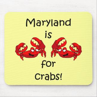 Maryland está para los cangrejos tapete de ratones