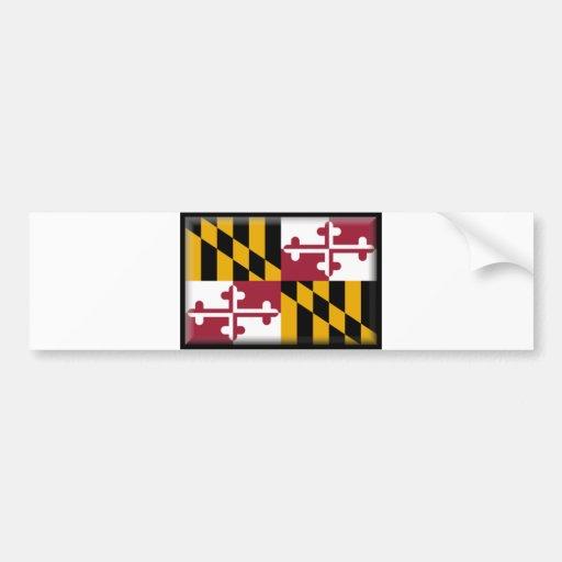 Maryland Etiqueta De Parachoque