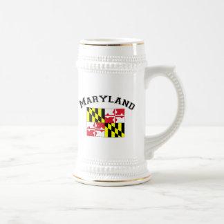 Maryland Flag 18 Oz Beer Stein