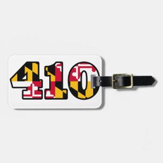 Maryland Flag - 410 Bag Tag