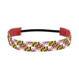 Maryland  flag, American state flag Athletic Headband