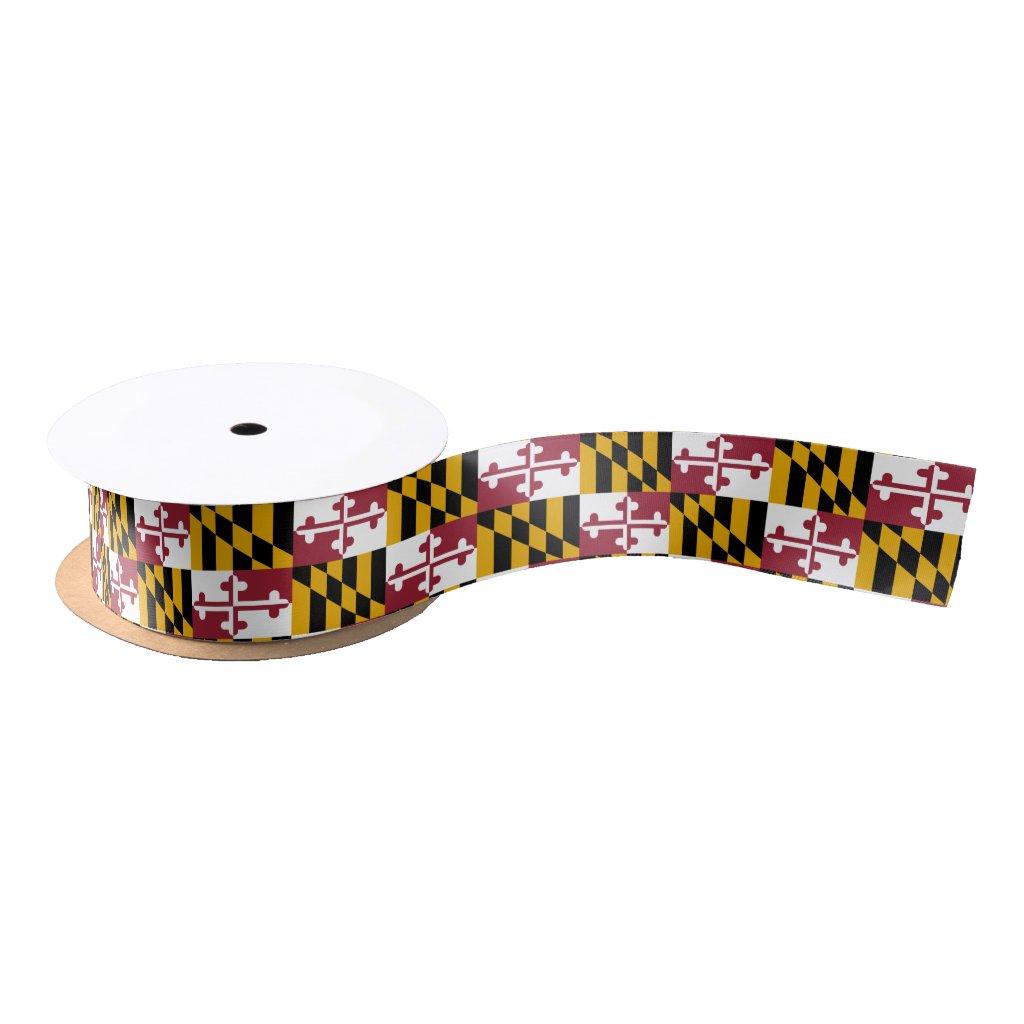 Maryland flag, American state flag ribbon