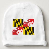 Maryland Flag Baby Beanie