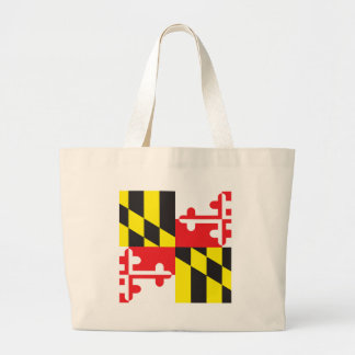 Maryland Flag Tote Bags