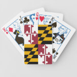 Maryland Flag Bicycle Playing Cards