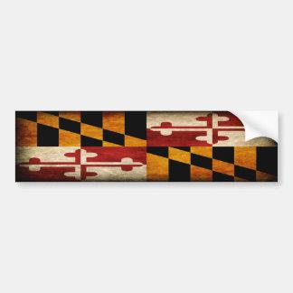 Maryland Flag Bumper Sticker