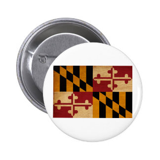 Maryland Flag Buttons