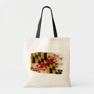 Maryland Flag Canvas Bags