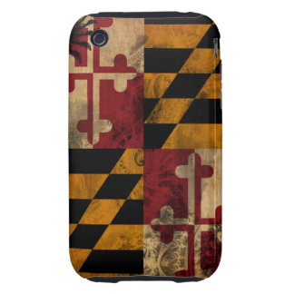 Maryland Flag iPhone 3 Tough Cases