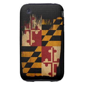 Maryland Flag Tough iPhone 3 Cover