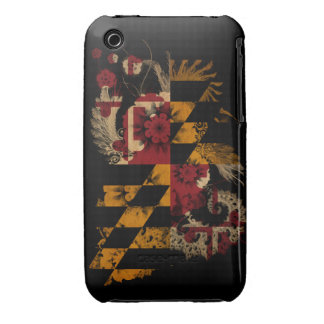 Maryland Flag iPhone 3 Cover