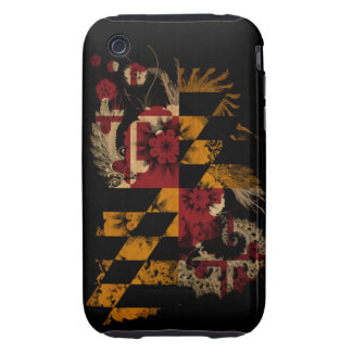 Maryland Flag iPhone 3 Tough Covers