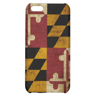 Maryland Flag Case For iPhone 5C