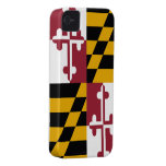 Maryland Flag CASEMATE BARELY THERE - iphone 4/4S iPhone 4 Case-Mate Cases