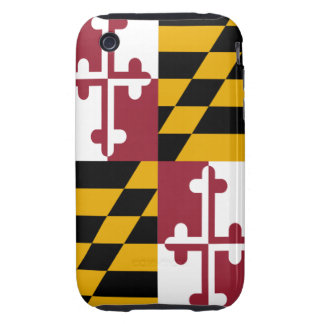 Maryland Flag CASEMATE for iPhone 3-3GS Tough iPhone 3 Cases