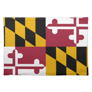 Maryland Flag Cloth Placemat