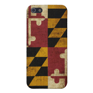 Maryland Flag Cover For iPhone SE/5/5s