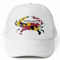 Maryland Flag Crab Hat