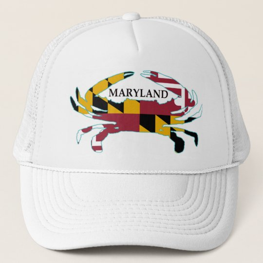03417a9f34e98 Maryland Flag Crab Hat
