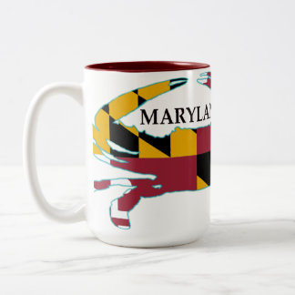 Maryland Flag Crab Mug