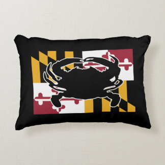 Maryland Flag/Crab pillow