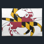 "Maryland Flag Crab Placemat<br><div class=""desc"">Feeling crabby? Showcase your Maryland pride.</div>"